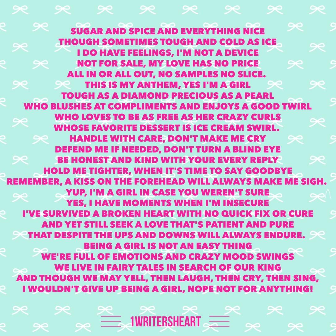 A Girls Anthem