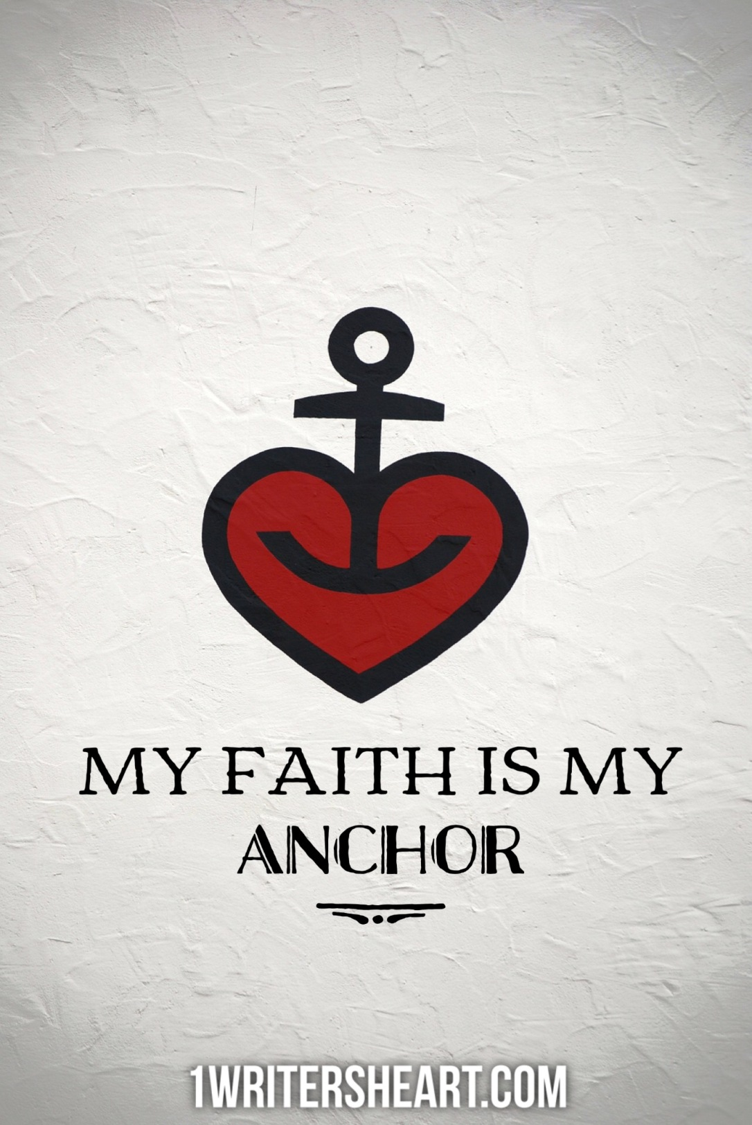 My faith, my anchor
