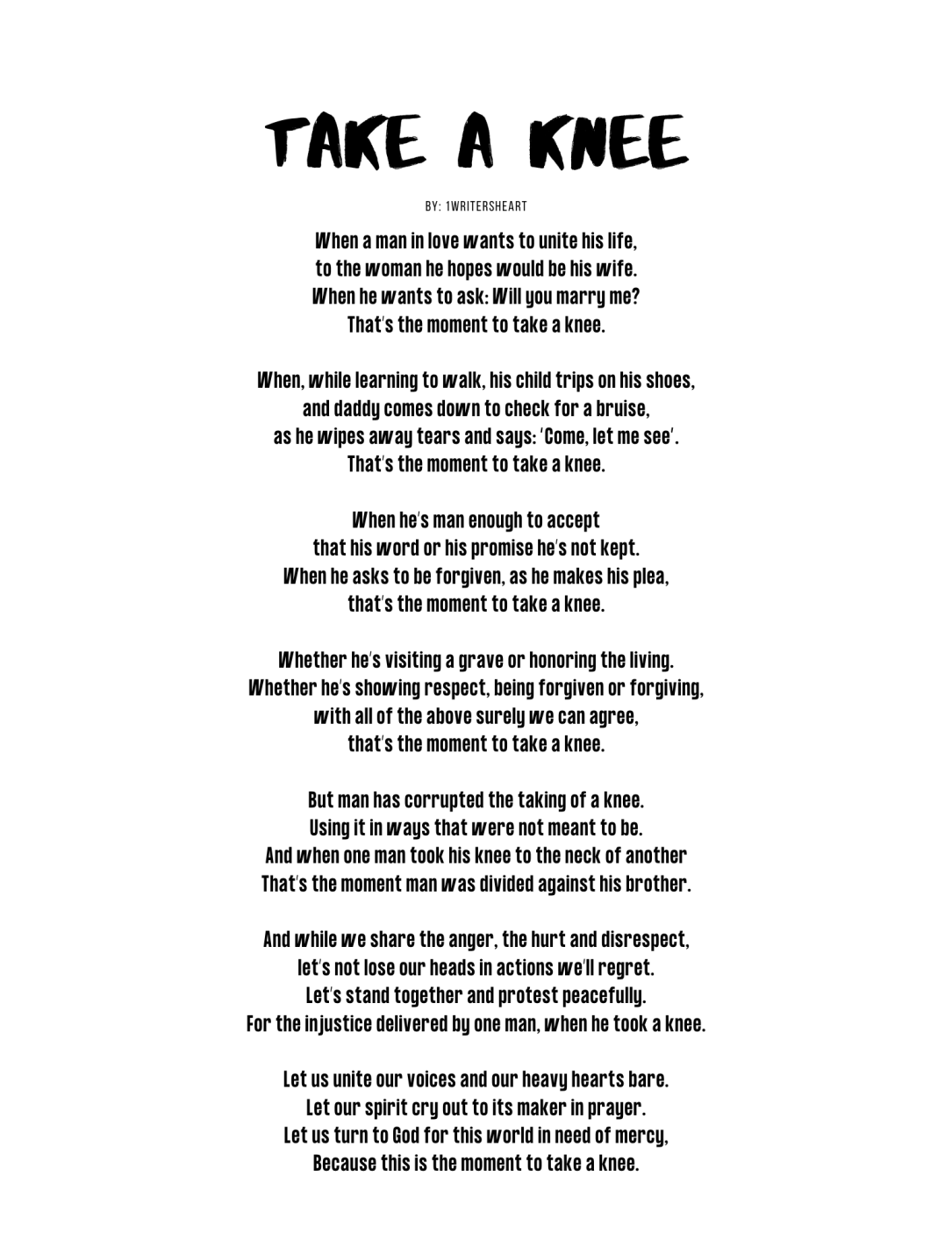 Copy of Take A Knee